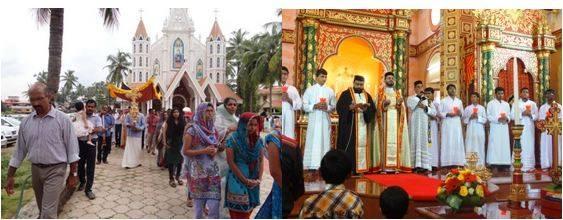 St  Antony's Jacobite Syrian cathedral, Jeppu, Mangalore